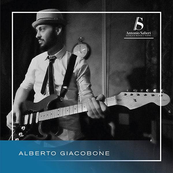 Alberto Giacobone Insegnante di Chitarra