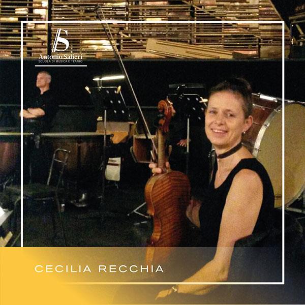 Cecilia Recchia Insegnante di Violino