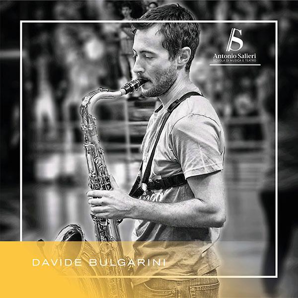 Davide Bulgarini Insegnante di Saxofono