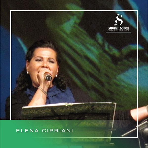 Elena Cipriani Insegnante di Canto Moderno