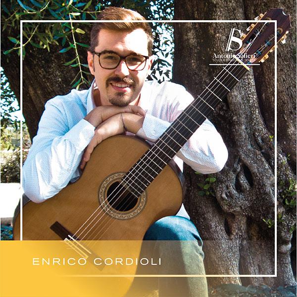 Enrico Cordioli Insegnante di Chitarra