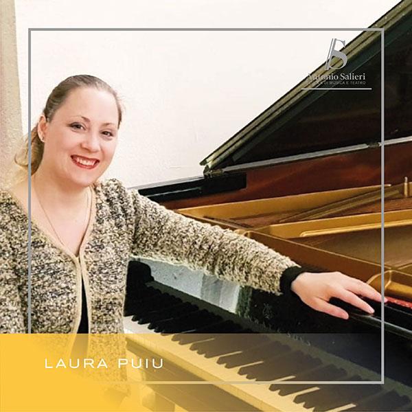 Laura Puiu Insegnante di Pianoforte