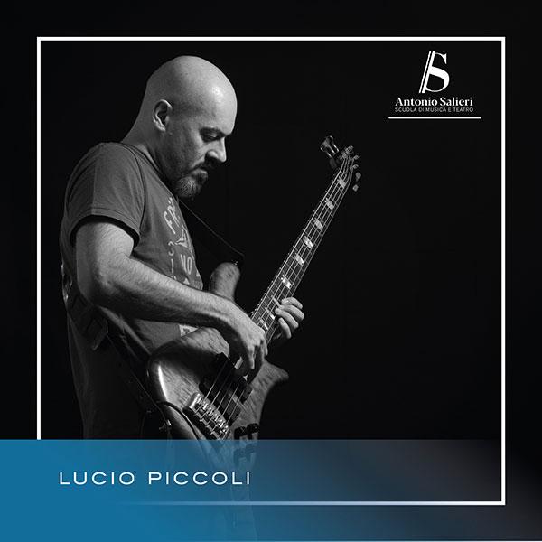 Lucio Piccoli Insegnante di Basso