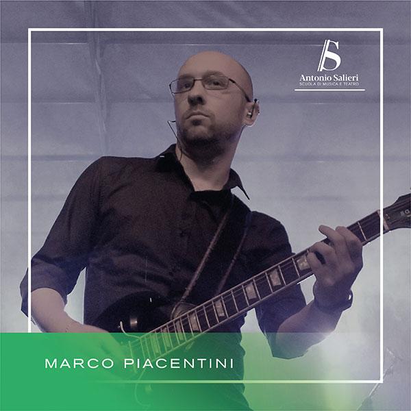 Marco Piacentini Insegnante di Chitarra