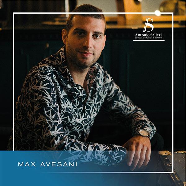 Max Avesani Insegnante di Batteria