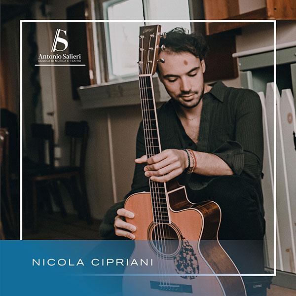 Nicola Cipriani Insegnante di Chitarra