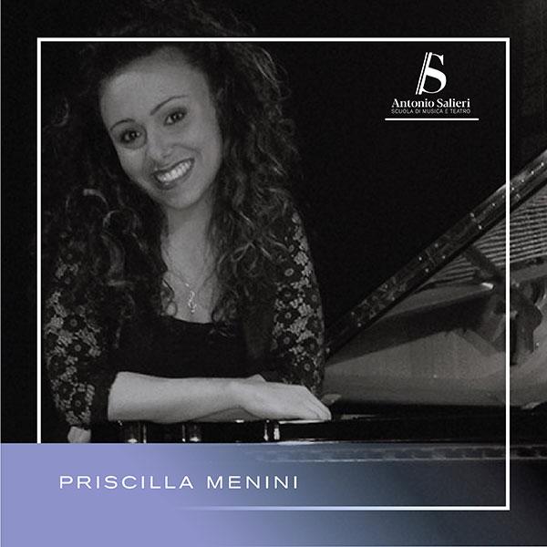 Priscilla Menini Insegnante di Educazione Musicale