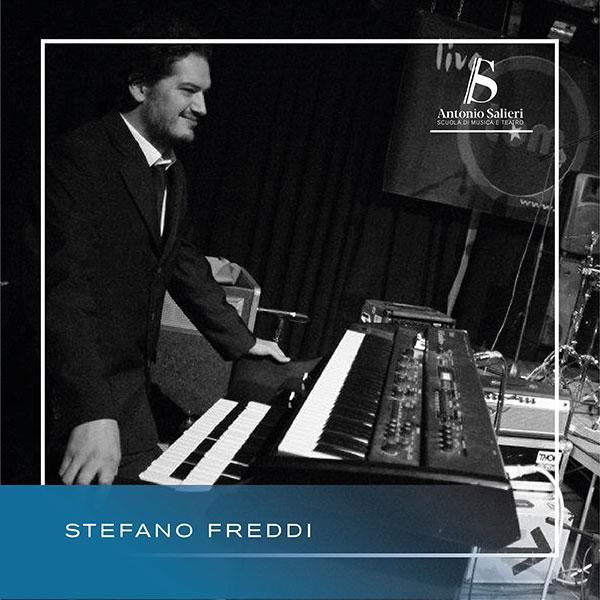 Stefano Freddi Insegnante di Tastiere